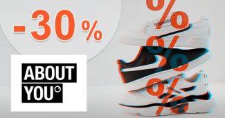 Až -30% EXTRA zľava na tenisky na AboutYou.sk