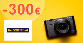 Až -300€ späť k foto technike Canon na Datart.sk