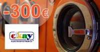 Až 300€ späť z nákupu AEG na Okay.sk