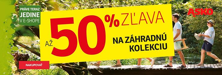 Až -50% na záhradné kolekcie na ASKO-nabytok