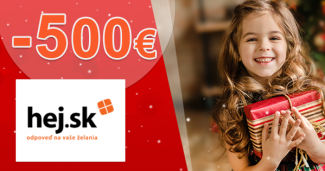 Až -500€ na Hej.sk