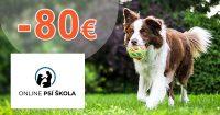 Až -80€ na Najobľúbenejší kurz na OnlinePsiaSkola