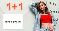 AKCIA 1+1 → NA TOP PRODUKTY na MyProtein.sk