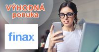 AKCIA → NOVÝ ÚČET BEZ POPLATKU na Finax.eu