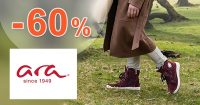 AKTUÁLNE ZĽAVY až do -60% na ARA-shoes.sk