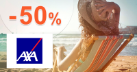 AXA cestovné poistenie -50% zľava na AXA-assistance.sk