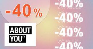 AŽ DO -40% EXTRA → NA VŠETKO na AboutYou.sk