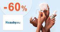 Akčná ponuka až -60% zľavy a akcie na NaZuby.eu