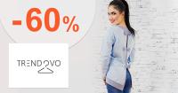 Akčná ponuka až -60% zľavy na Trendovo.sk