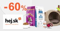 Akčné položky pre chovateľov až -60% na Hej.sk