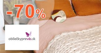 Flanelové obliečky až -70% na OblieckyPreVas.sk