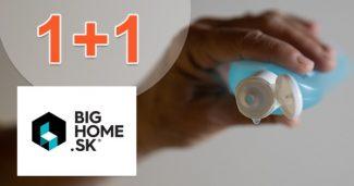 Akcia 1+1 na dezinfekečný gél na BigHome.sk
