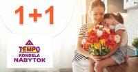 Akcia 1+1 na vybraný nábytok na TempoNabytok.sk