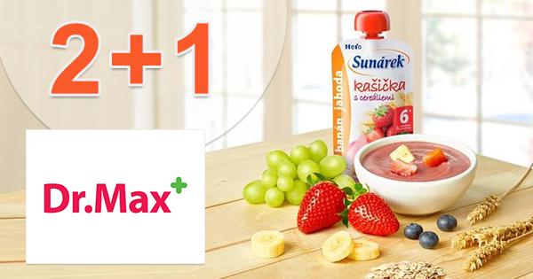 Akcia 2+1 na produkty Sunárek na DrMax.sk