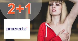 Akcia 2+1 na Proerecta tabletky na Proerecta.com