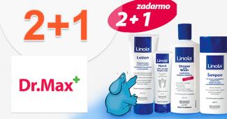 Akcia 2+1 na produkty Linola na DrMax.sk