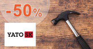 Akciový sortiment až -50% zľavy na YatoNaradie.sk