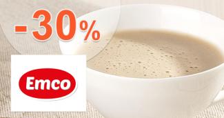 Akcia na nápoje až -30% zľavy na Emco.sk