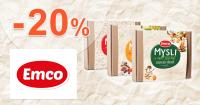Mysli cereálie až -20% zľavy na Emco.sk