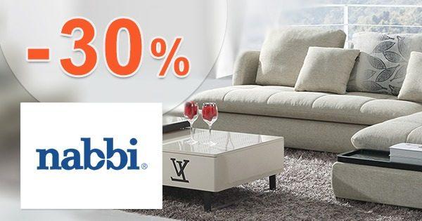 Akcie a zľavy NA NÁBYTOK až do -30% na Nabbi.sk