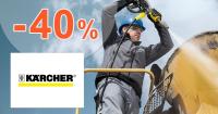 Akcie a zľavy až -40% na Kaercher.sk