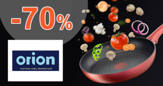 Akcie a zľavy až -70% na OrionDomacePotreby.sk