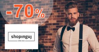 Akciový sortiment až -70% zľavy na Shopinguj.sk