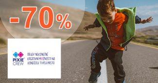Akcie a zľavy k nákupu až do -70% na PixieCrew.cz