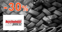 Akcie a zľavy na pneumatiky až -30% na NejvyhodnejsiPNEU.sk