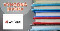 Akcie a zľavy na vybrané knihy na ArtForum.sk