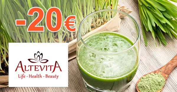 Akcie mesiaca až -20€ na Altevita.sk
