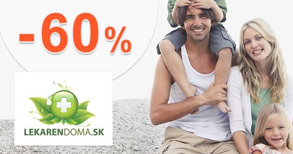 Akcie mesiaca až -60% zľavy na LekarenDoma.sk