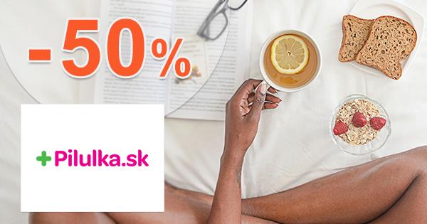 Sortiment pre opaľovanie až do -50% na Pilulka.sk