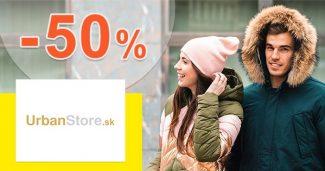 Akcie na rukavice až -50% zľavy na UrbanStore.sk