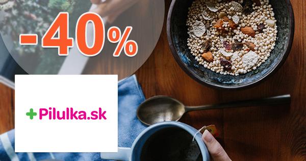 Zľavy až -40% na detskú výživu na Pilulka.sk