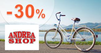 Akcie na bicykle až -30% zľavy na AdreaShop.sk