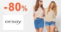 Využite akcie na dámske blúzky so zľavami až do výšky -80%. Pozrite akciový sortiment na Orsay.sk a ušetrite.
