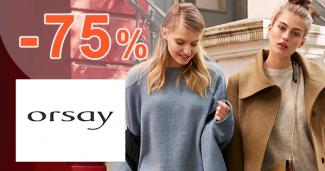 Akcie na bundy a kabáty až -75% na Orsay.sk
