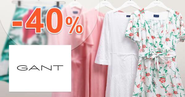 Akcie na dámske šaty až -40% zľavy na GANT.sk