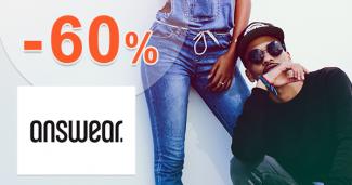 Akcie na pánske mikiny až -60% na Answear.sk