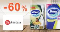Akcie na drogériu až -60% zľavy na myAustria.sk
