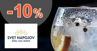 Akcie na gin až -10% zľavy na SvetNapojov.sk