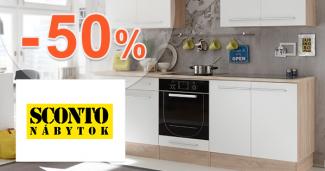 Akcie na kuchynské linky až -50% na Sconto.sk