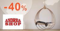 Akcie na nábytok až -40% zľavy na AdreaShop.sk