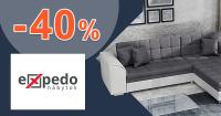 Akcie na nábytok až -40% zľavy na Expedo.sk