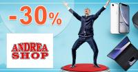 Akcie na notebooky až -30% zľavy na AdreaShop.sk