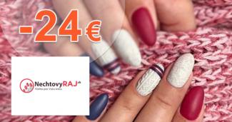 Akcie na nové produkty až -24€ na NechtovyRaj.sk