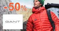 Akcie na pánske bundy až -50% zľavy na GANT.sk