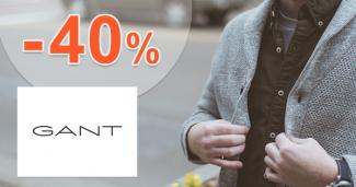 Akcie na pánske svetre až -40% zľavy na GANT.sk