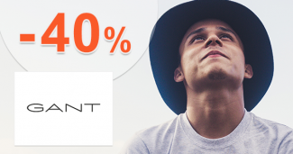 Akcie na pánske tričká až -40% zľavy na GANT.sk